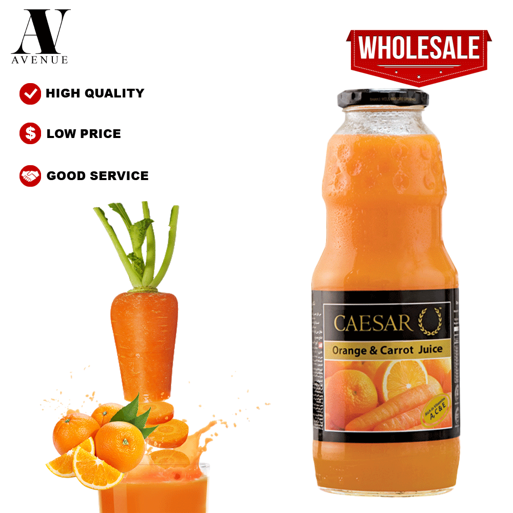Caesar juice Orange & Carrot 1L  عصير سيزر