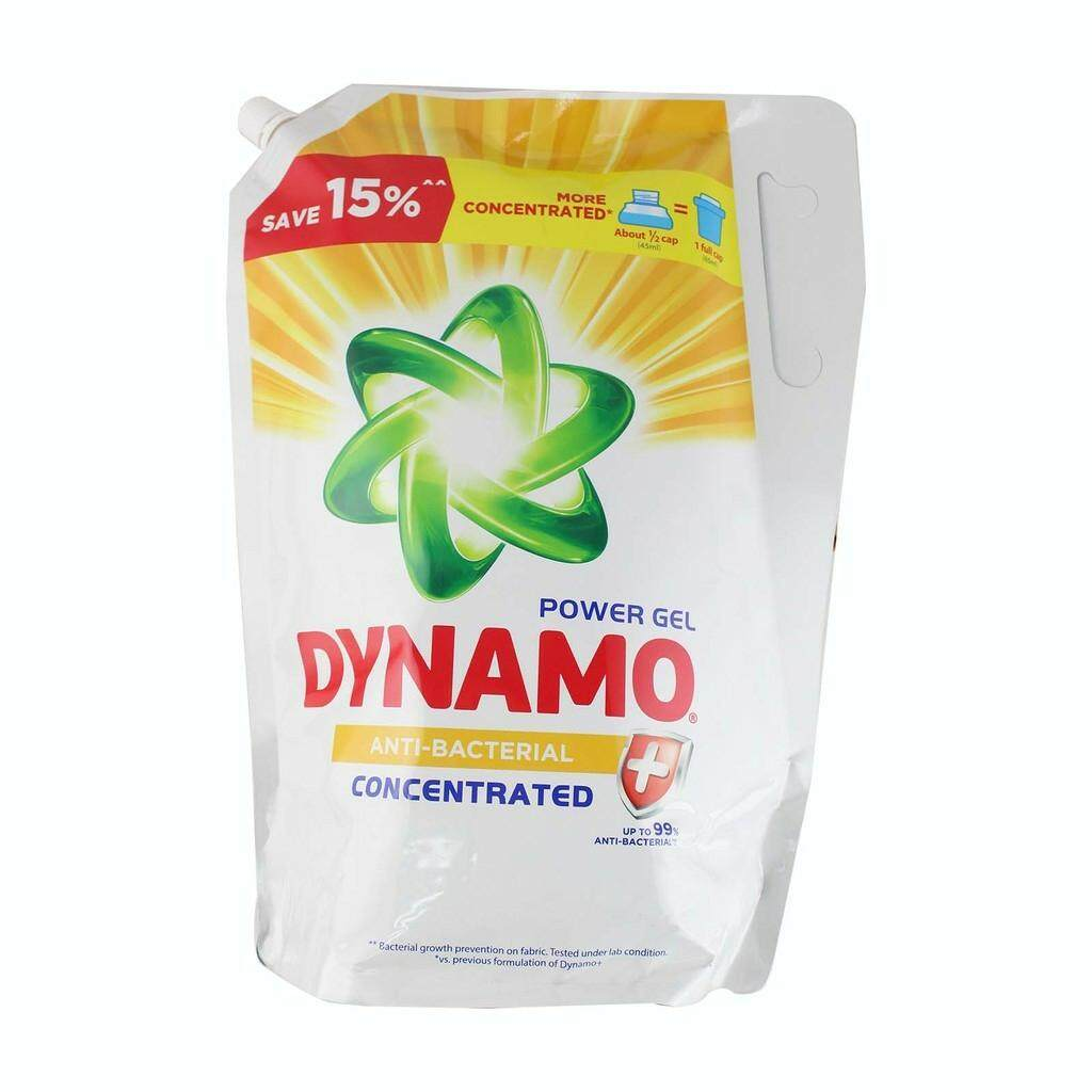 Dynamo Power Gel  Liquid Detergent Refill -ANTI-BACTERIAL 2.4KG-2.7KG READY STOCK