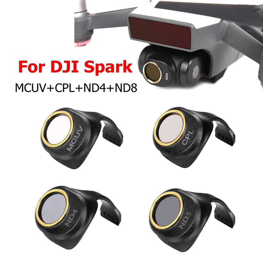 Lens Filters - Gimbal Camera MCUV/CPL/ND4/ND8/ND16/ND32 GD HD Filter Lens For DJI Spark Drone - ND32 / ND16 / ND8 / ND4 / CPL / MCUV