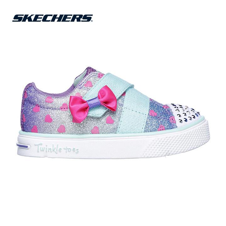 Skechers Twinkle Breeze 2.0 Girls Lifestyle Shoe - 10994N-BLMT
