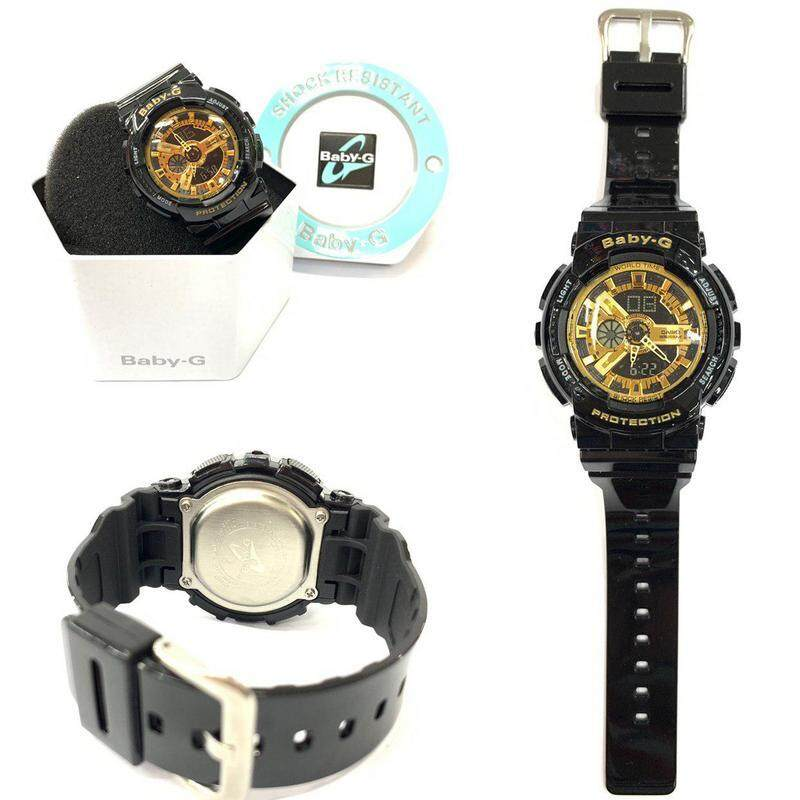New Sport-CASIO_BABY_G_BA-110_Dual Time Display Resin Band Women\'s Watch New Fashion & Affordable Price