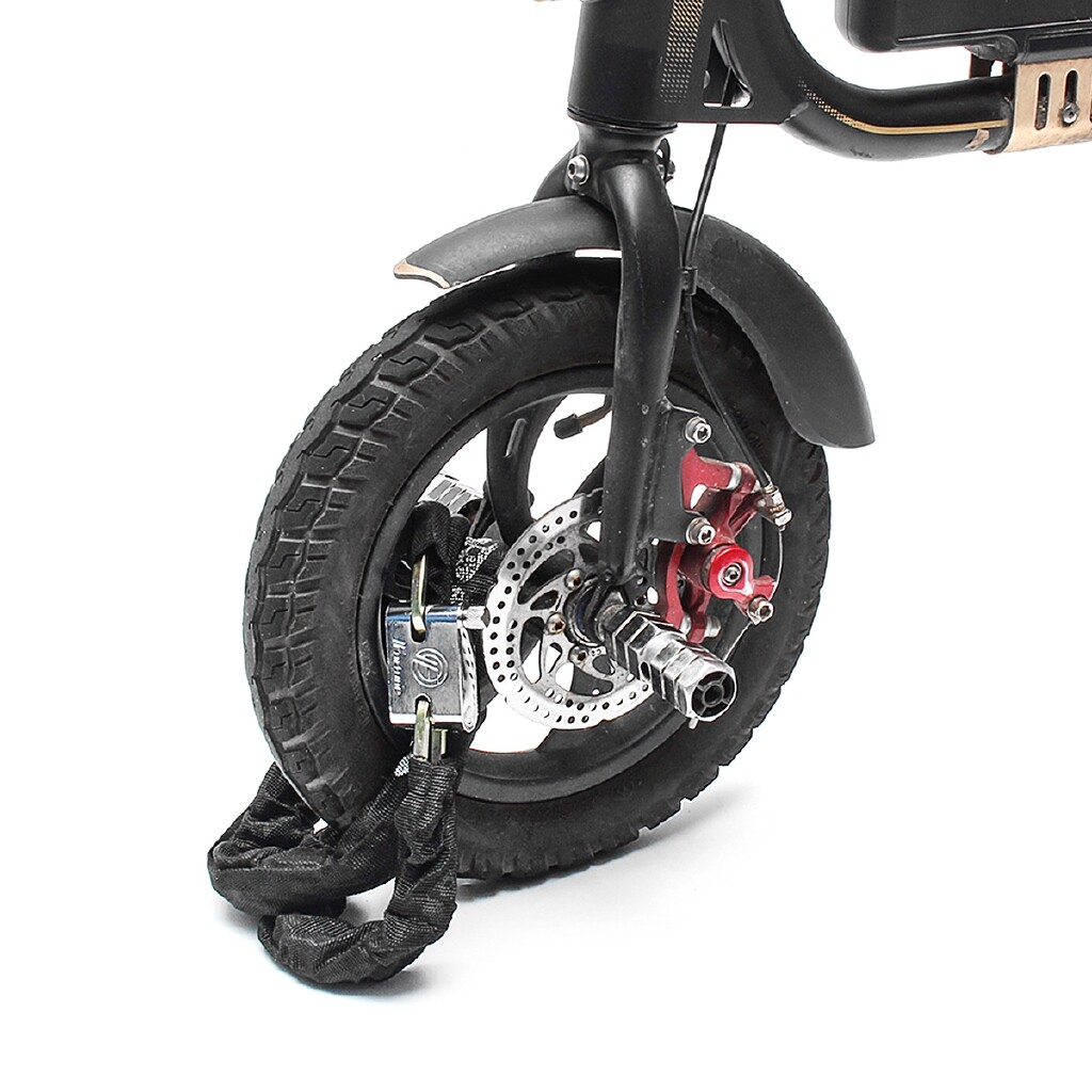 Moto Accessories - Motorcycle Motorbike Bicycle Scooter 1.8M Metal Heavy Duty Chain Lock Padlock - Motorcycles, Parts