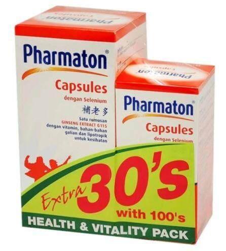PHARMATON WITH SELENIUM CAPSULES 100S EXTRA 30S