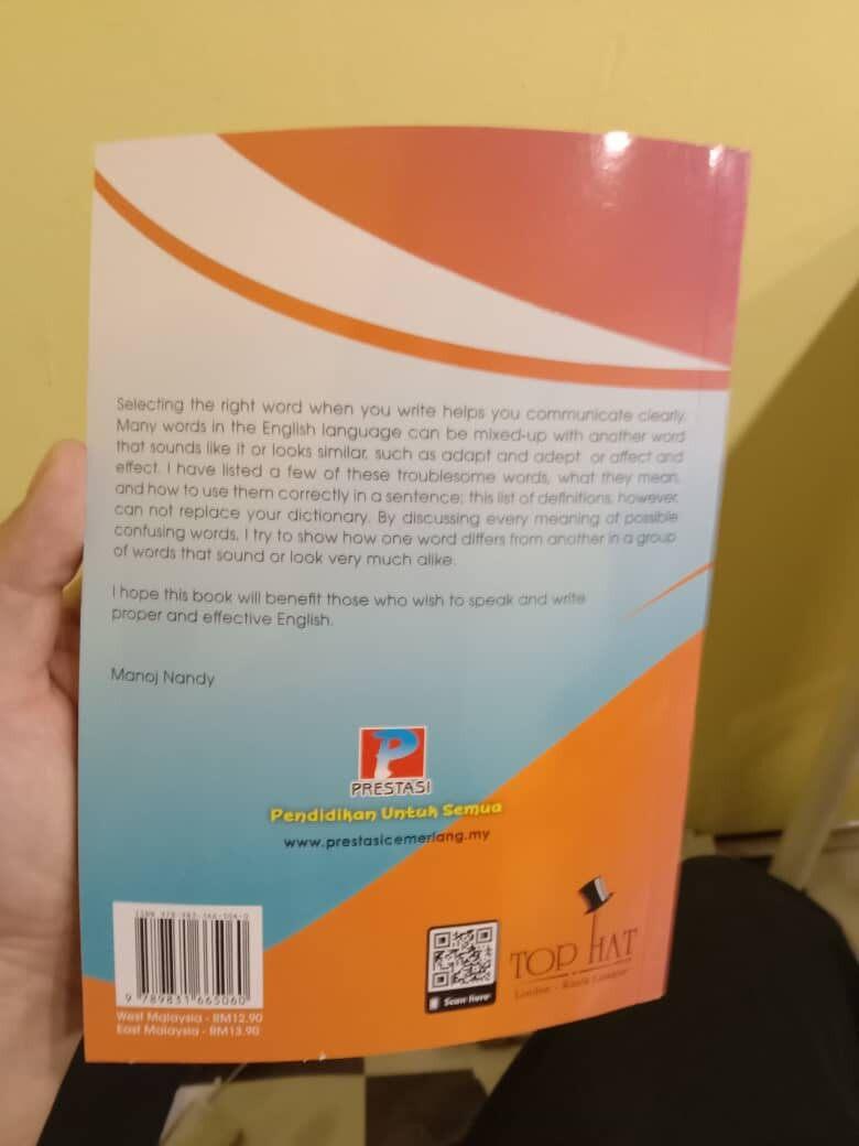 Best Selling Bahasa Inggeris Dinamik Vocabulary English Easy Explanations Year 4,5 & 6 UPSR NEW 2020 (Ready Stock)