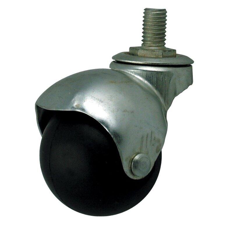 "2"" Rubber Roller (Swivel) (Screw) (Break)"