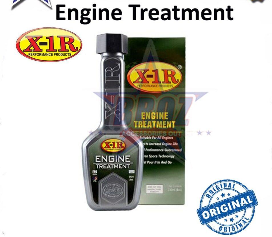 ORIGINAL X-1R Engine Treatment 1 Bottle / 60ml Fuel System Cleaner / Engine Treatment + Fuel System Suitable For Most Car