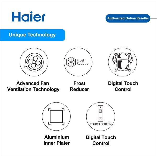 Haier 222L Superior Chest Freezer Peti Beku BD-222HEF