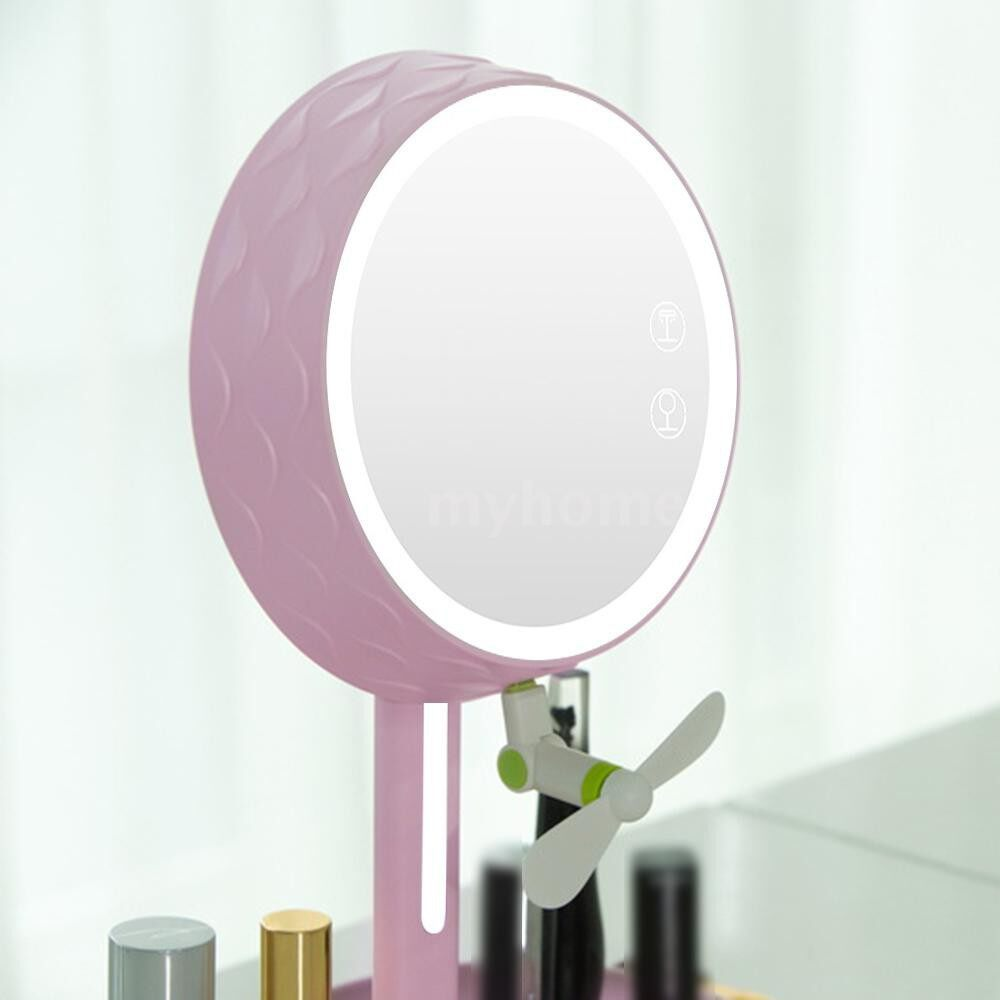 Lighting - LED Light Vanity Compact Makeup Touched Adjustable Rotatable ABS Brightness Home Bedside Bedroom - PINK / BLUE / WHITE