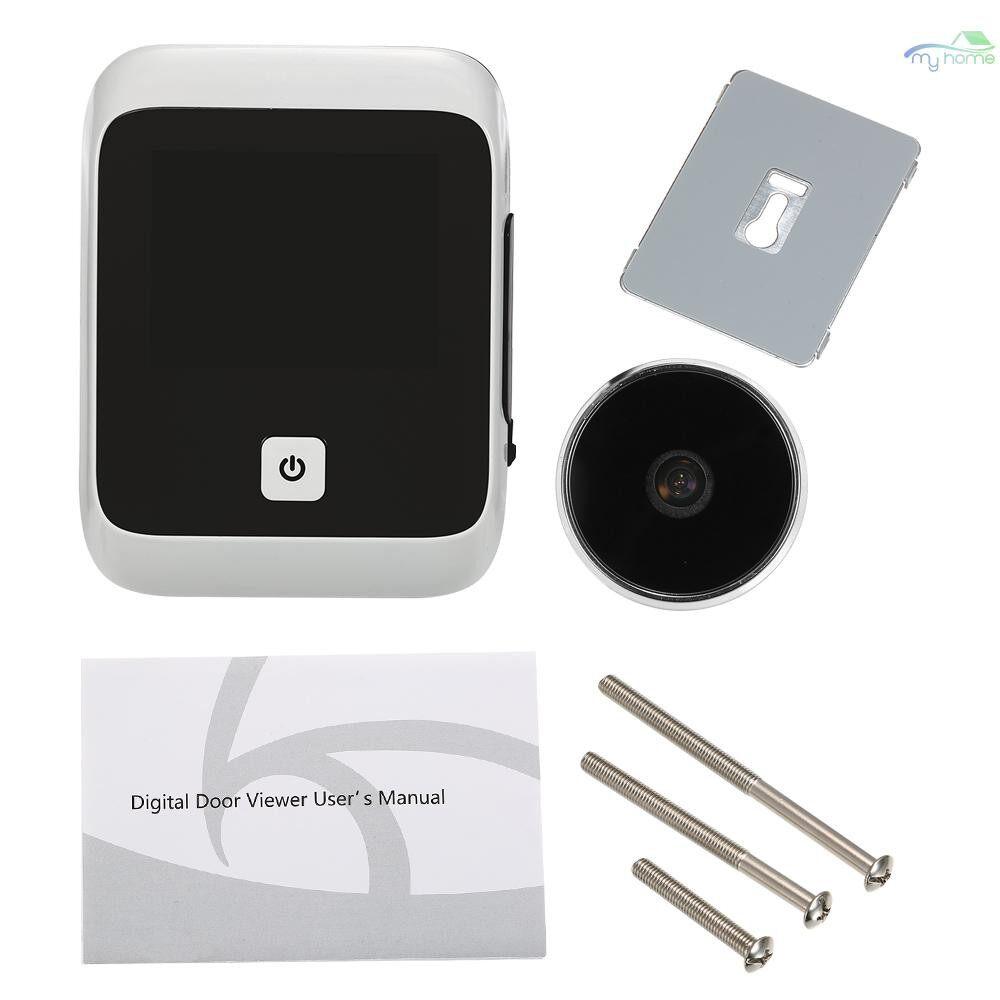 Security & Surveillance - 3.0 inch TFT LCD Visible Digital Door Doorbell 120 Degree Viewing Angle Peephole Viewer Door Eye - BLACK&WHITE