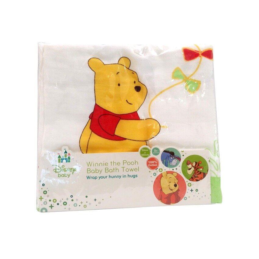 Disney Baby Bath Towel - Winnie The Pooh