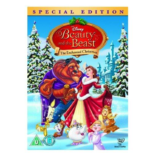 Disney Beauty And The Beast The Enchanted Christmas - DVD