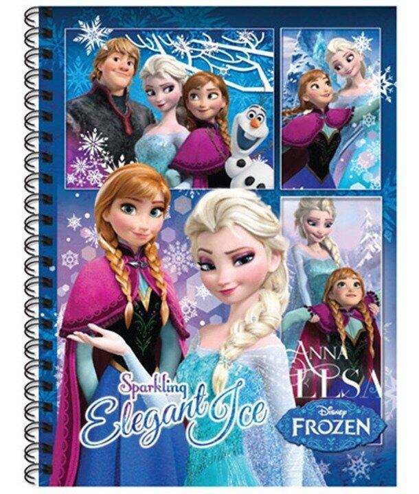 Disney Frozen Hard Cover Note Book Set
