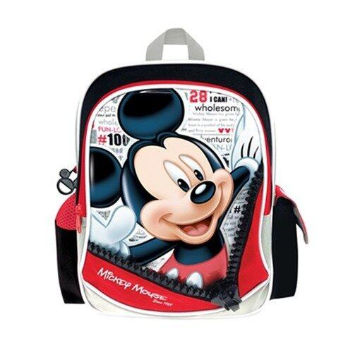 """Disney Mickey Backpack 12"""" - Red And Black Colour"""