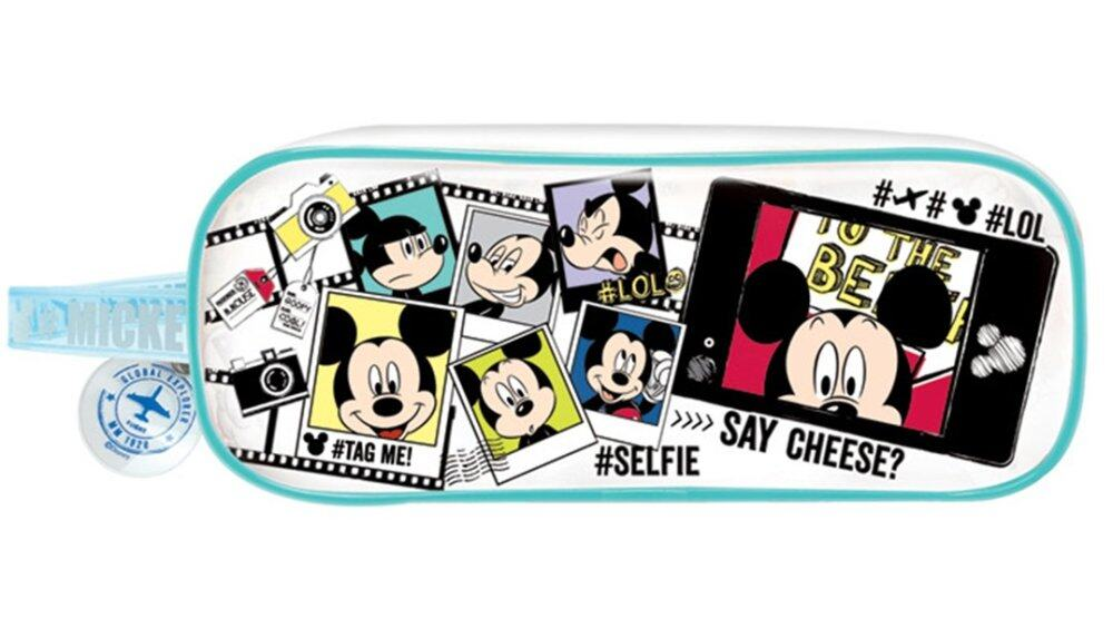 Disney Mickey Boy's Square Pencil Bag Set