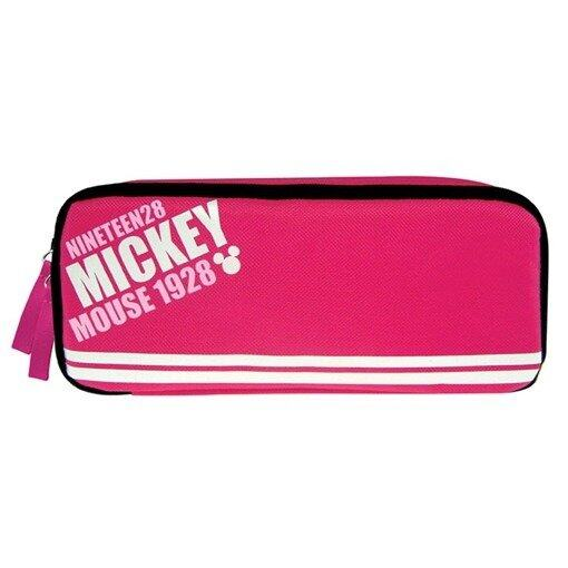 Disney Mickey Square Pencil Bag - Pink Colour