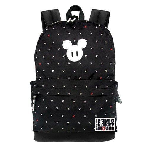 Disney Mickey Teenager Backpack - Black Colour