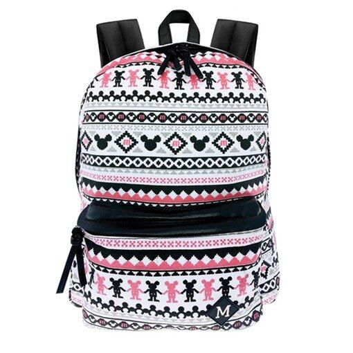 Disney Mickey Teenager Backpack - White Colour