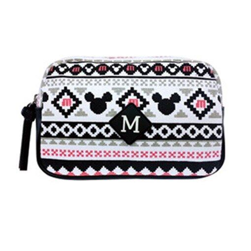 Disney Mickey Vanity Case Bag - White Colour