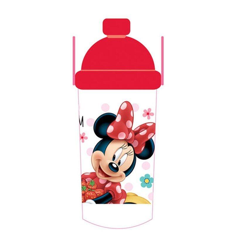 Disney Minnie 350ML Water Bottle - Red Colour