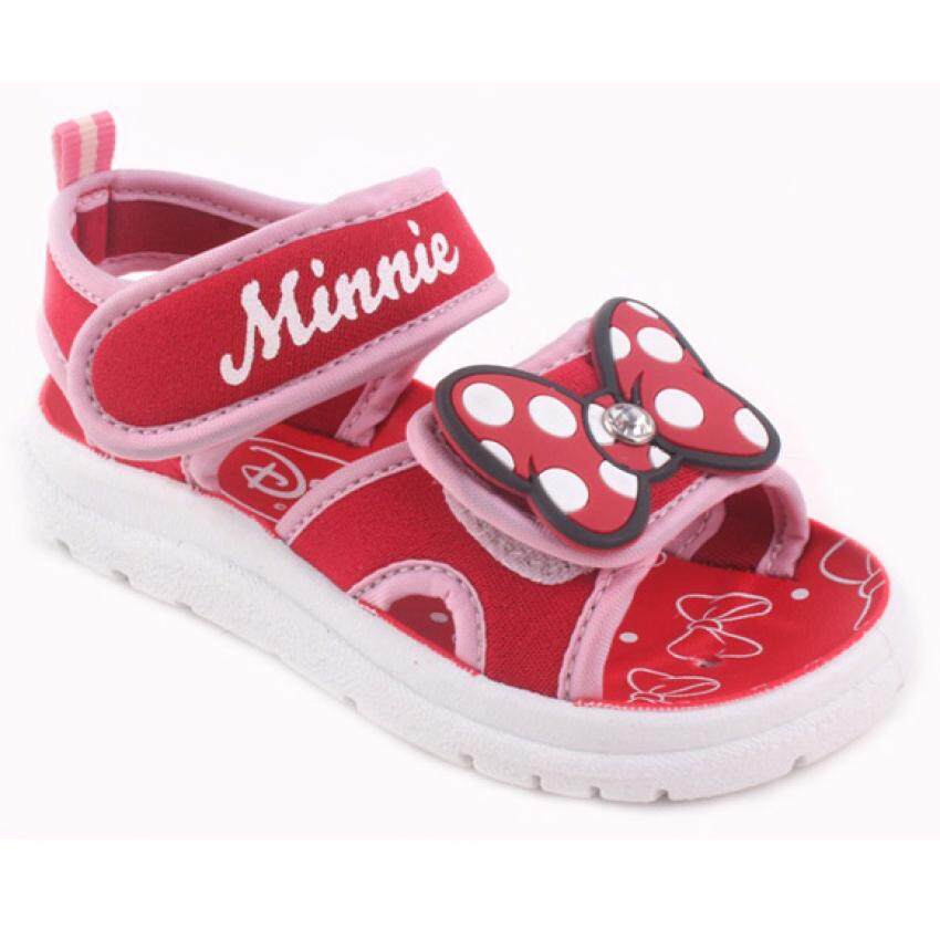 Disney Minnie Sporty Sandal 3yrs to 8yrs - Red Colour