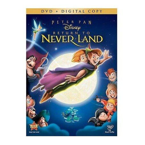 Disney Peter Pan Return To Neverland - DVD