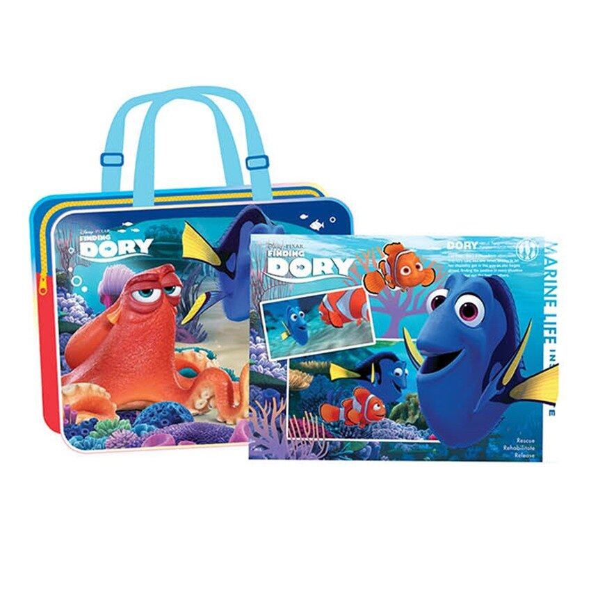 Disney Pixar Finding Dory Drawing Bag Set - Blue Colour