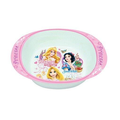 "Disney Princess 6"" Handled Bowl - Pink And White Colour"