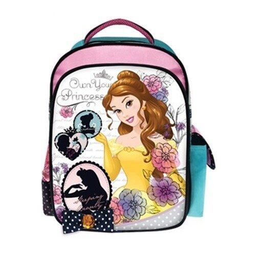 "Disney Princess Backpack 12"" - Yellow And Pink Colour"