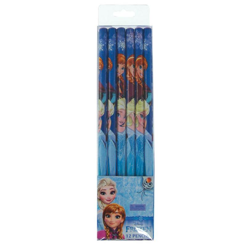 Disney Princess Frozen 6pcs Pencil Set - Blue Colour