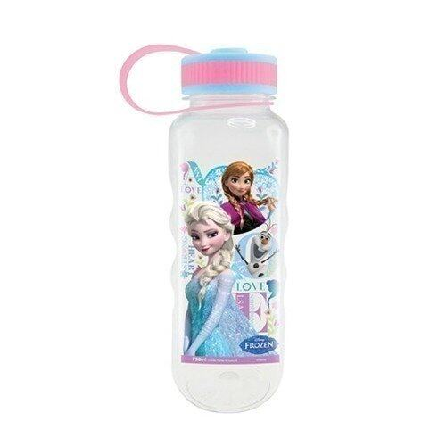 Disney Princess Frozen 750ML Tritan Bottle - Pink And Blue Colour