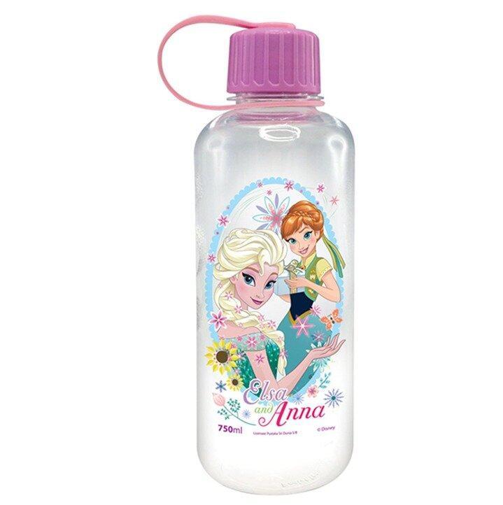 Disney Princess Frozen Fever 750ML Polycarbonate Bottle - Purple Colour