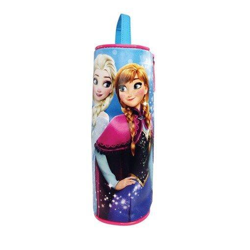 Disney Princess Frozen Round Pencil Bag - Blue Colour