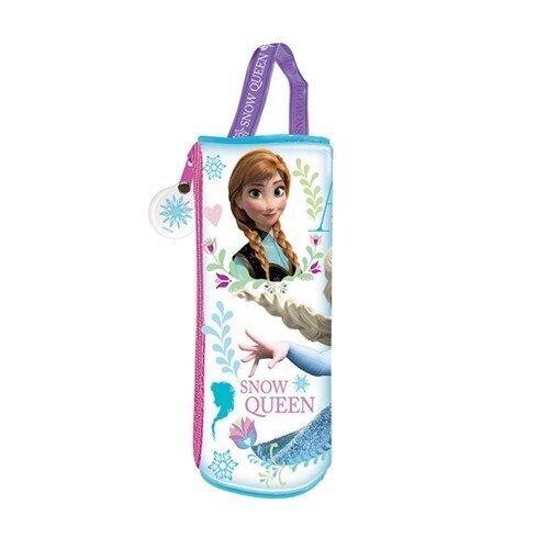Disney Princess Frozen Round Pencil Bag Set - Blue Colour