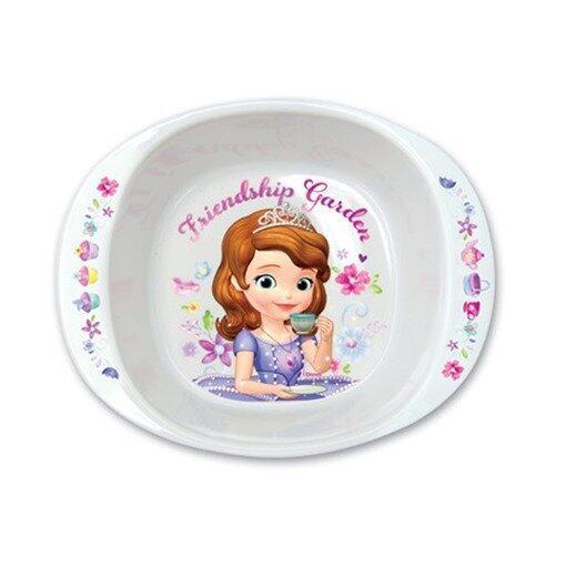 """Disney Princess Sofia 6"""" Handled Bowl - White Colour"""