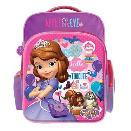 Disney Princess Sofia School Bag - Pink And Purple Colour