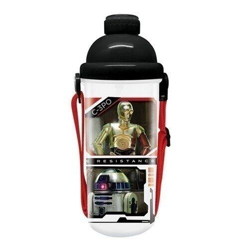 Disney Star Wars 650ML Water Bottle - Black Colour
