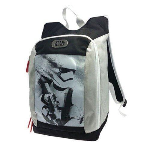 Disney Star Wars Pre School Bag - White And Black Colour