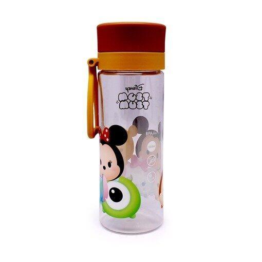 Disney Tsum Tsum 550ML Water Bottle - Dark Brown Colour