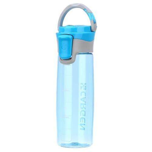 CARGEN R71010 600ML PORTABLE PLASTIC FUNCTION SPORT BOTTLE FOR CYCLING HIKING OFFICE (BLUE)