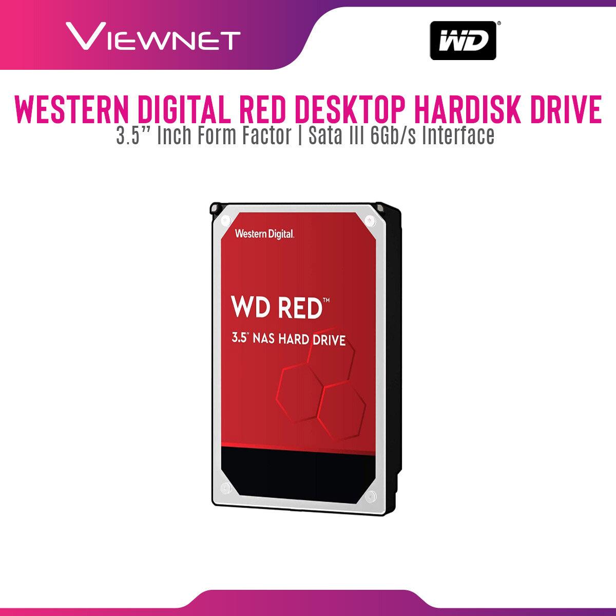 WD Western Digital Red 1TB NAS SATA Internal Hard Drive 64MB