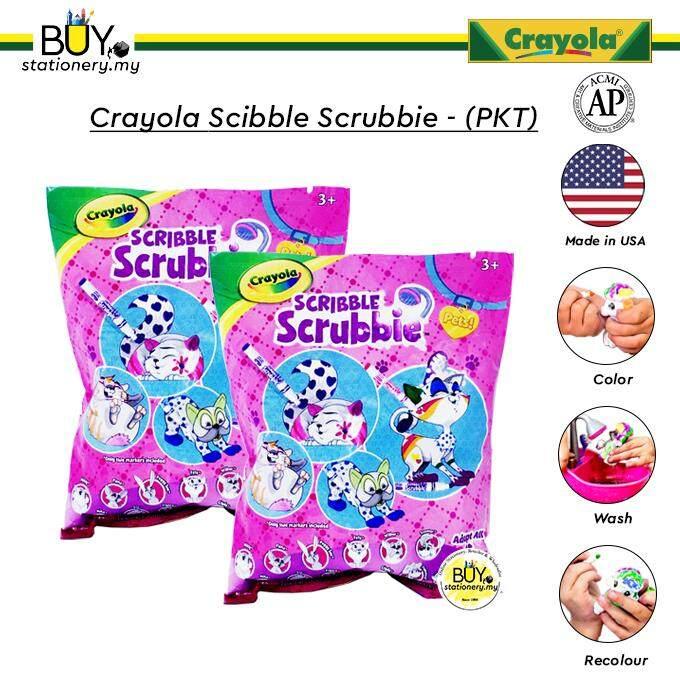 Crayola Scribble Scrubbie- PKT