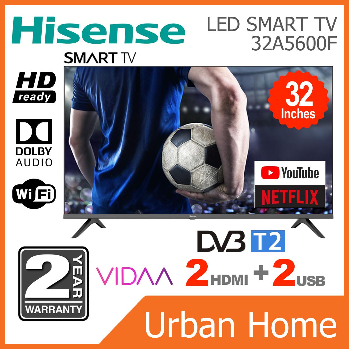 """HISENSE 32"""" HD Ready LED Smart TV (32B6000HW/32A5600F)"""