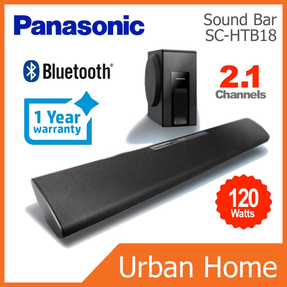 PANASONIC 120w 2.1 Channels Sound Bar (SC-HTB18/SC-HTB18EG-K/SCHTB18)