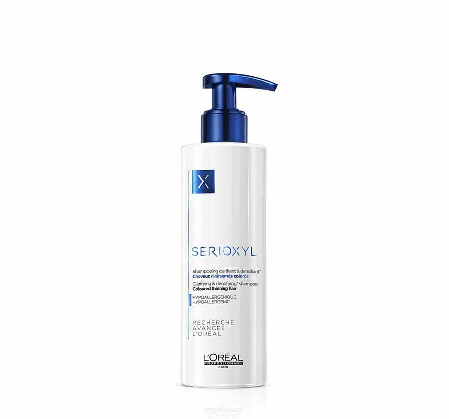 LOREAL Serioxyl Clarifying Shampoo(250ml) - ANTI Hair Loss/ Hair Growth ( For Coloured Hair)