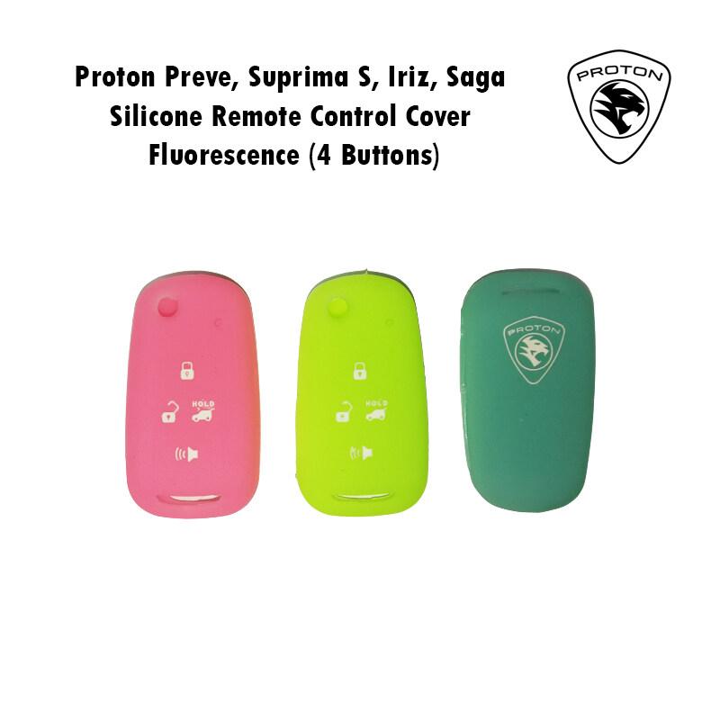 Proton Preve / Suprima S / Iriz / Saga 19\'-20\' Silicone Flip Key Remote Control Cover Fluorescence (4 Buttons)