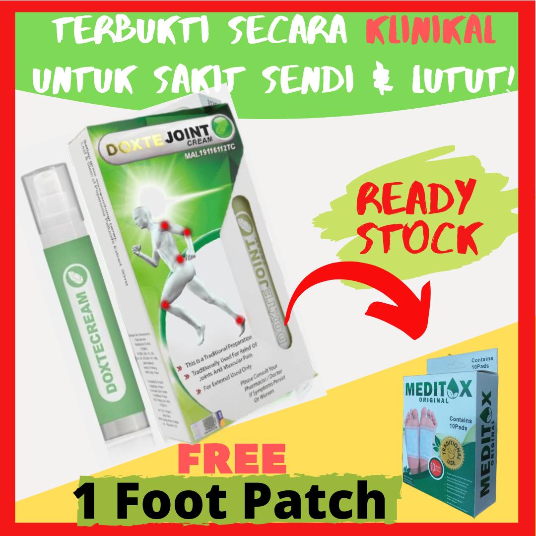 [FreeGift] Doxte Joint Cream Penawar Lutut Dan Sendi Anda 50g  Diuji Secara Saintifik