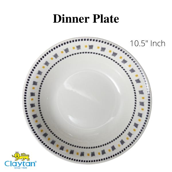Claytan Tableware- Oriental Ceramics-Calika Yellow- Claytan-Dinner Set-Tea Set-(Ready Stock)