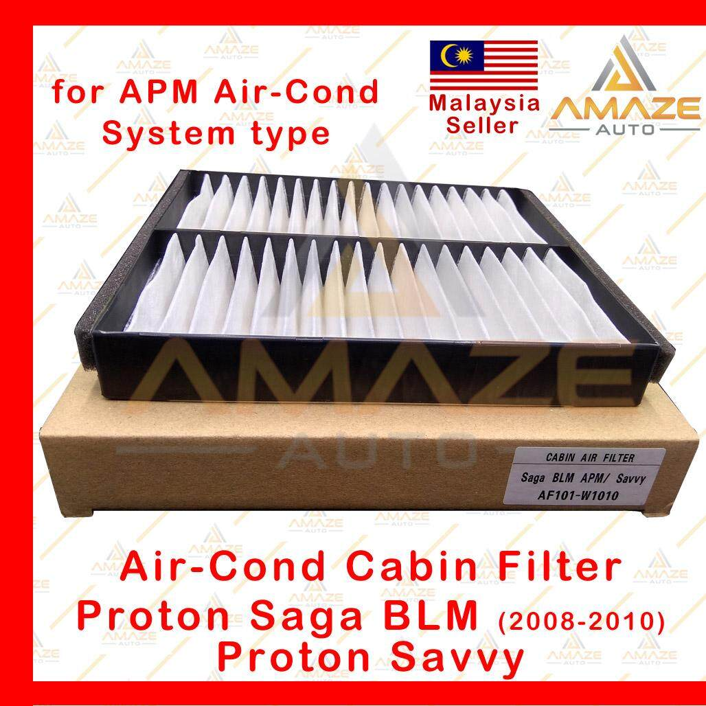 Air-Cond Cabin Filter for Proton Saga BLM (08-10) & Proton Savvy - APM Air-Cond System Type (Penapis Air-con)