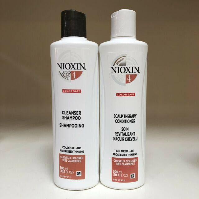NIOXIN System 4 Duo Pack for Coloured Hair with Progressed Thinning 300ml