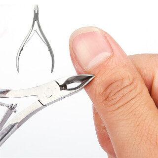 1 Cái Móng Tay Da Chết Cutter Cuticle Bạc Thép Không Gỉ Nipper Cho Nail Art Dụng Cụ Cắt Cạnh Dụng Cụ Làm Móng Tay thumbnail